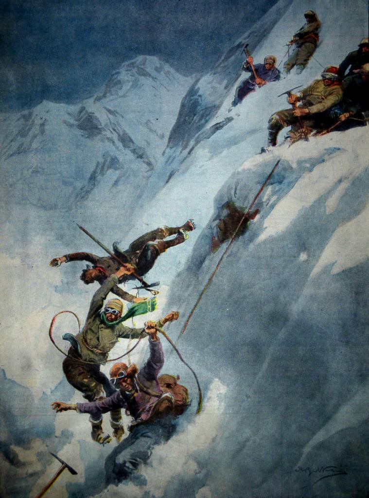 I Disegni di Achille Beltrame: All'assalto dell'Everest