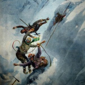 I Disegni di Achille Beltrame: All'assalto dell'Everest