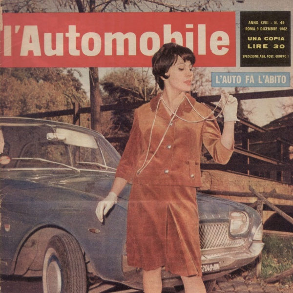 Storia dell'Editoria: L'Automobile (Dicembre 1962)