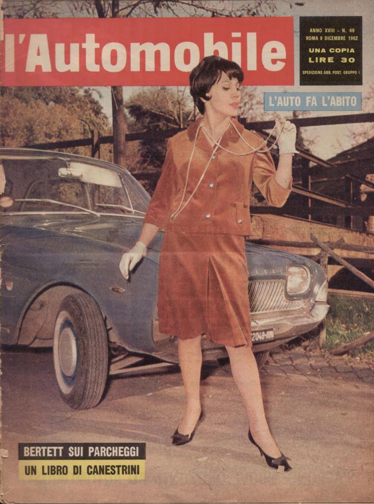 Editoria: L'Automobile (Dicembre 1962)