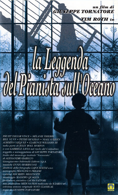 """Locandine, il Cinema per immagini: """"La leggenda del pianista sull'oceano"""""""