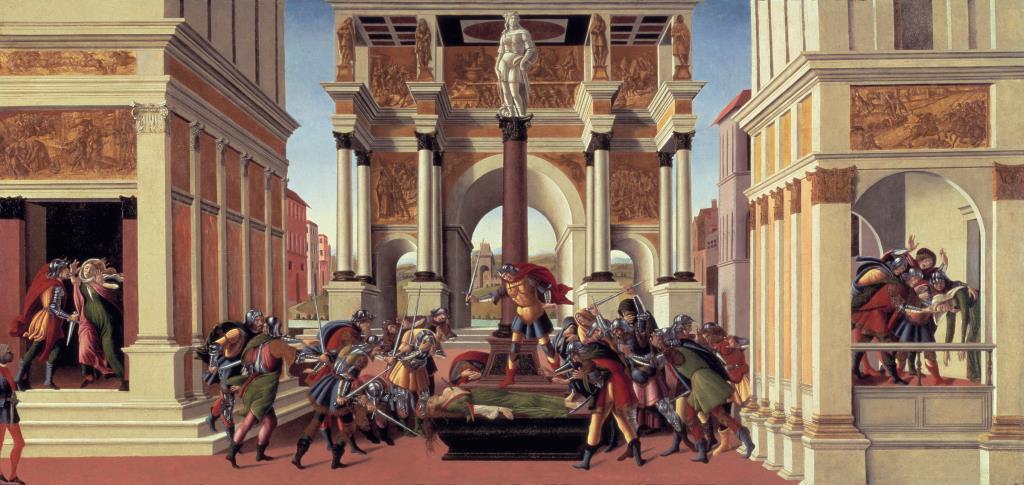 """Due dipinti del Botticelli volano da Bergamo a Boston per """"Heroines + Heroes"""""""