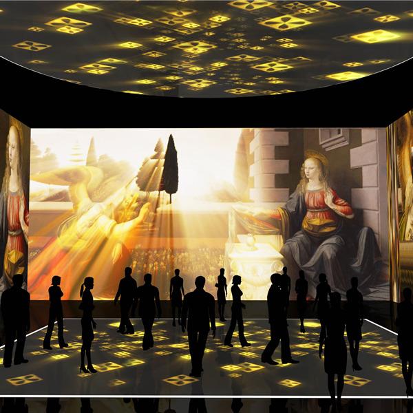 Leonardo da Vinci 3d. Spettcolo multisensoriale dedicato a tutta la famiglia