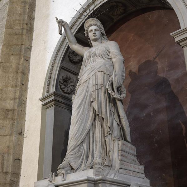 """Sisters in Liberty. La """"Statua della Libertà"""" e la """"Libertà della Poesia"""" di Pio Fedi uniscono Firenze e New York"""
