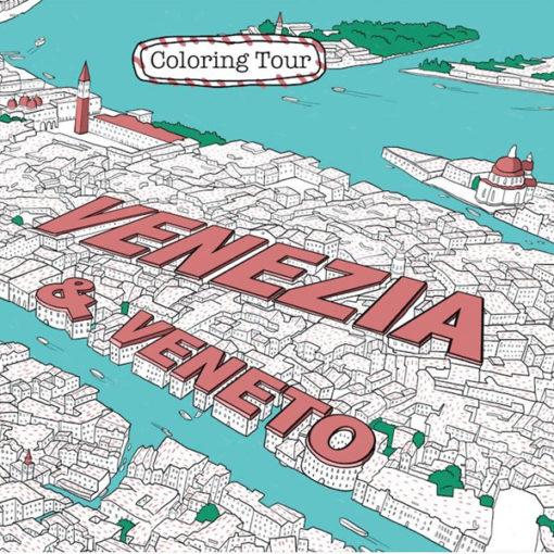 Coloring Tour, il nuovo concetto di libro da viaggio
