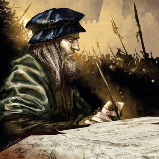 """""""Leonardo. l'ombra della congiura"""". La graphic novel firmata da De Nardo e Lucchi"""