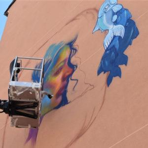 On The Wall - Street Art al Ponte Morandi di Genova
