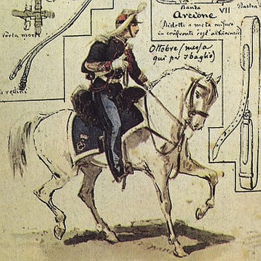 Uniformi militari - Il Codice Cenni: Tavola 06