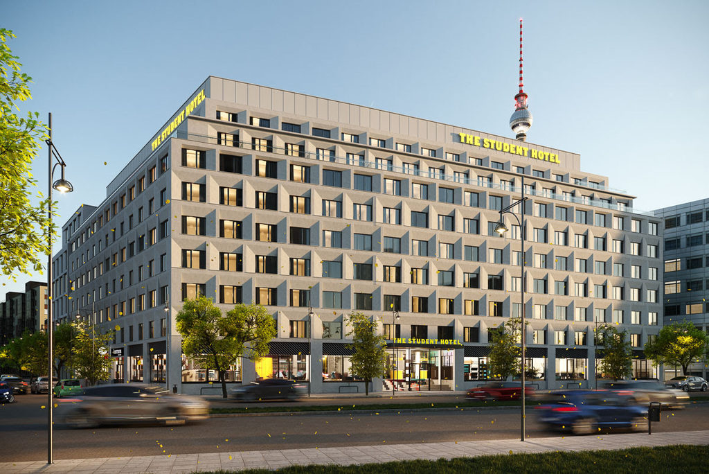 Da ottobre apre a Berlino The Student Hotel: impara, alloggia, gioca, condividi