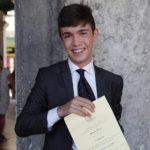 E' Matteo Porru il vincitore della 24a edizione del Campiello Giovani
