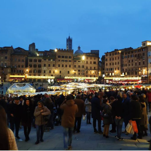 Il Mercato nel Campo. Un tuffo nel Trecento senese tra cultura ed eccellenze artigianali