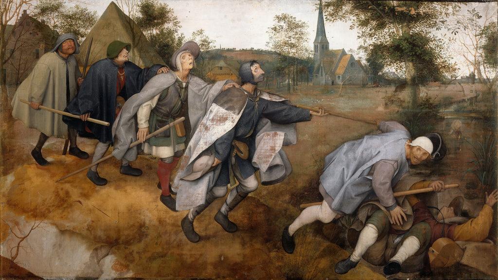 """La parabola dei ciechi"" di Gert Hofmann"