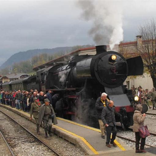 Viaggio nella Memoria con il treno storico Redipuglia-Caporetto