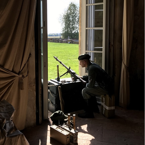Villa Arconati in grigioverde - La rievocazione storica degli Anni '40