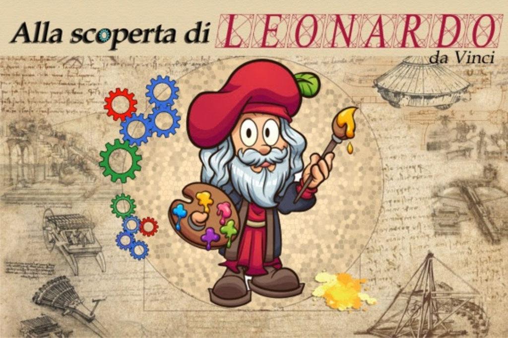Alla scoperta di Leonardo. Spettacolo laboratorio sulla vita dell'artista