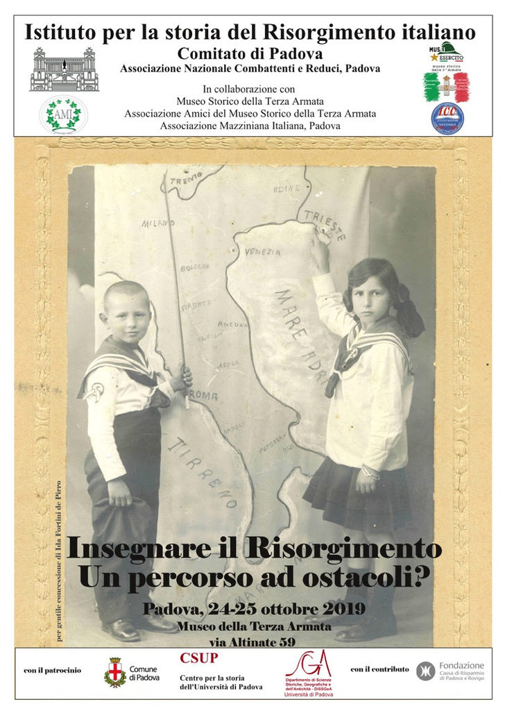 """Convegno: """"Insegnare il Risorgimento. Un percorso ad ostacoli?"""""""