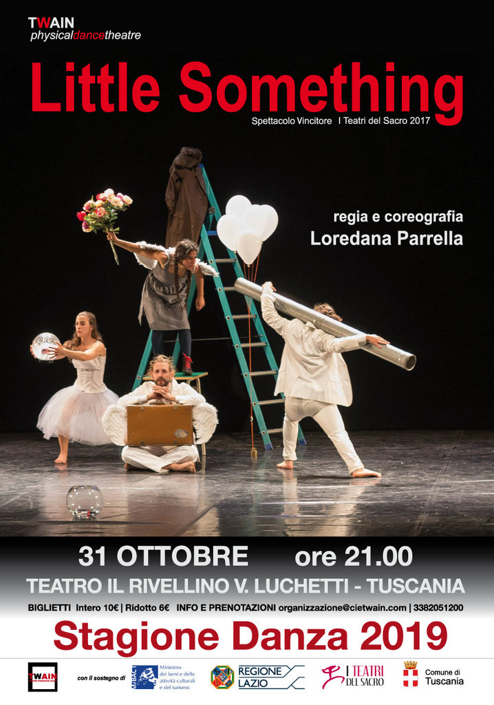 "Teatro-Danza: ""Little Something"" di Loredana Parrella"