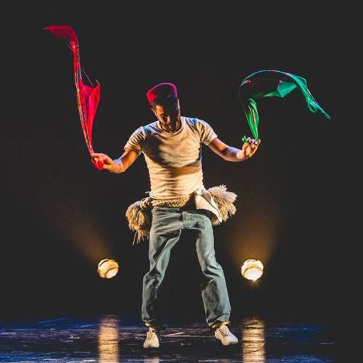 Zoufri: performance del danzatore e coreografo Rochdi Belgasmi