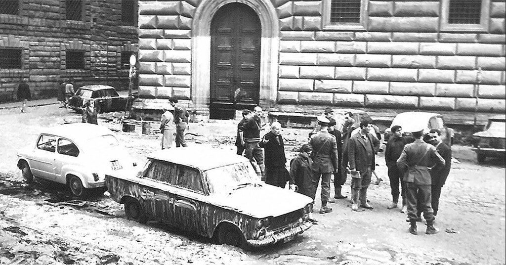 """Proiezione: """"Per Firenze"""" il film di Zeffirelli sull'alluvione del '66"""