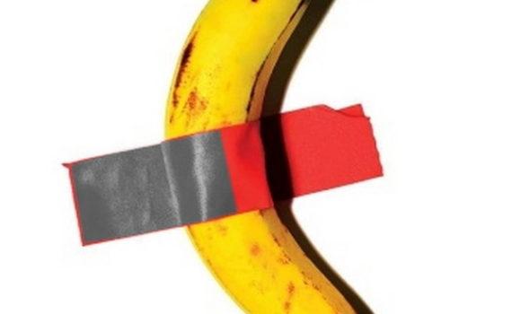 """La """"vera"""" storia della banana appesa di Cattelan: la Bananadine, Donovan, Wharol, l'Arte e la genialità di un gallerista"""