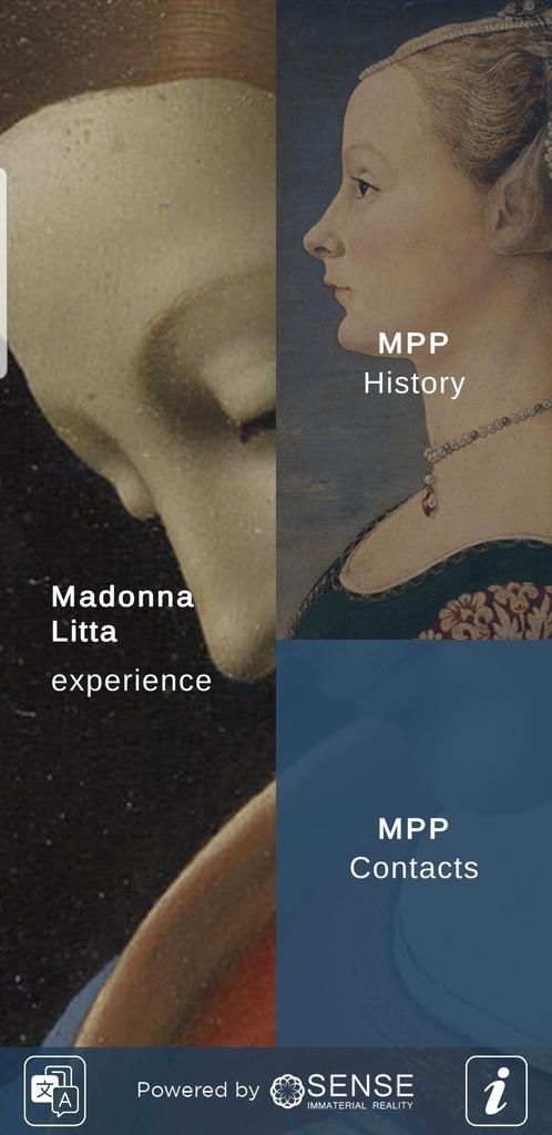 """""""Madonna Litta Milano"""" l'app per sapere tutto sul capolavoro di Leonardo"""
