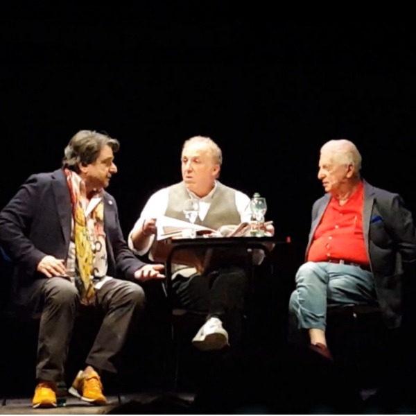 "Teatro: ""Eravamo tre amici al bar"" con Gianfranco D'Angelo, Sergio Vastano e Tonino Scal"