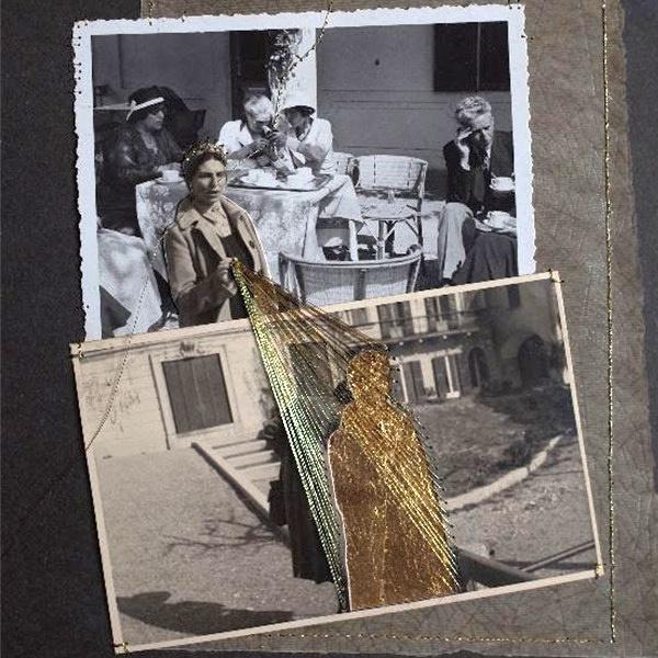 Tramare - Laboratorio di trasformazione con filo dorato di vecchie foto
