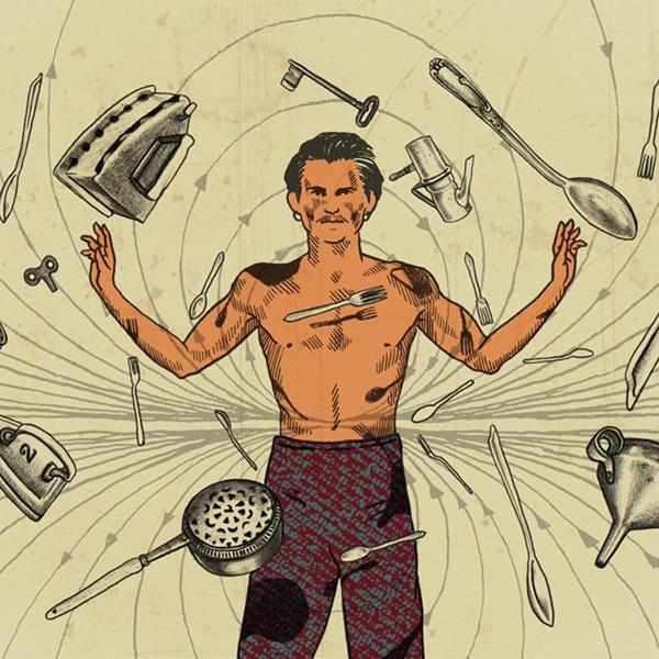 Uomo Calamita - Uno spettacolo di circo contemporaneo, tra illusionismo, coraggio, musica e letteratura