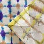 Workshop di shibori itajime su carta