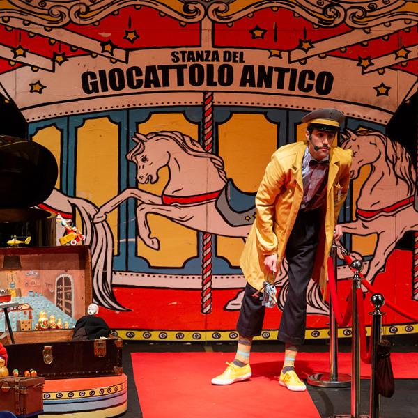 """Teatro: """"Il guardiano e il buffone ossia Rigoletto (che ride e piange)"""""""