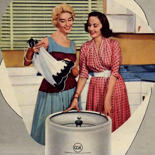 """Pausa Pubblicità: """"Lavatrice elettrica CGE"""" (1955)"""