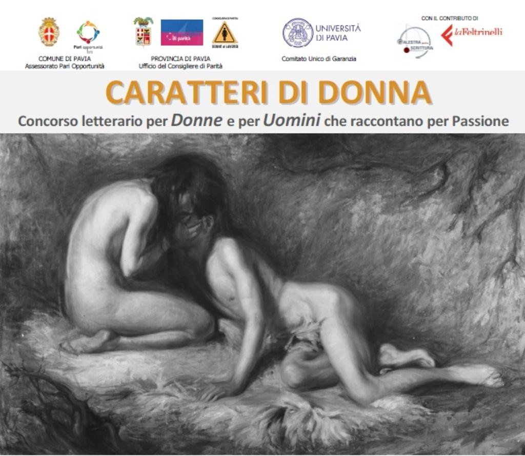 Caratteri di Donna. Concorso letterario per donne e per uomini che raccontano per passione - 16a edizione