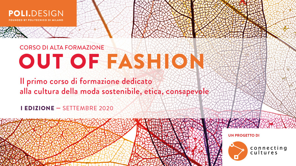 Out of Fashion: la sostenibilità nel mondo della moda - Corso di Alta Formazione