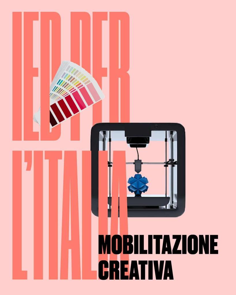 IED per l'Italia. La mobilitazione creativa è aperta a tutti