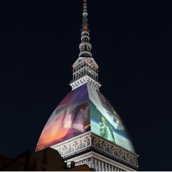Spettacolo di videomapping sulla Mole Antonelliana