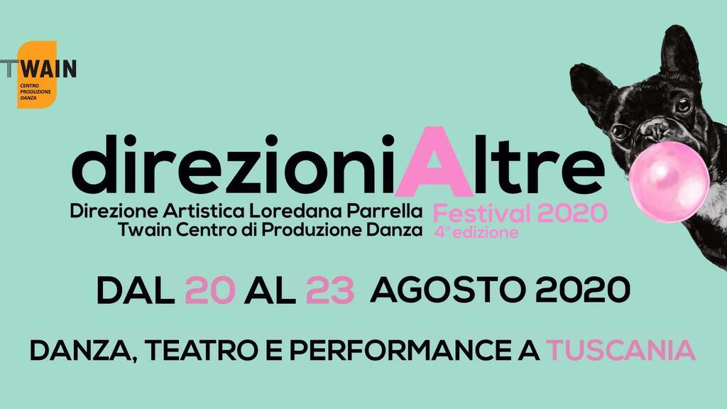 DirezioniAltre Festival 2020 - Danza, teatro e performance