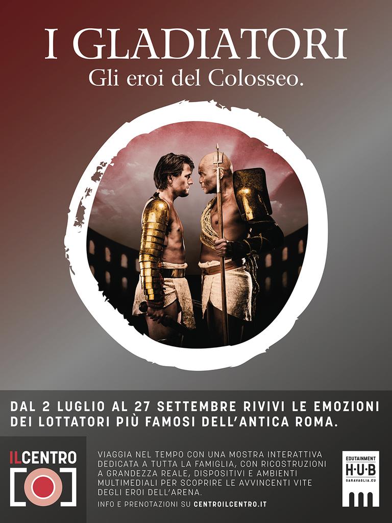I Gladiatori - Gli eroi del Colosseo. Mostra interattiva