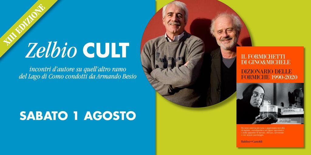 """Incontro con Gino & Michele: """"Il Formichetti. Dizionario delle Formiche 1990-2020"""""""