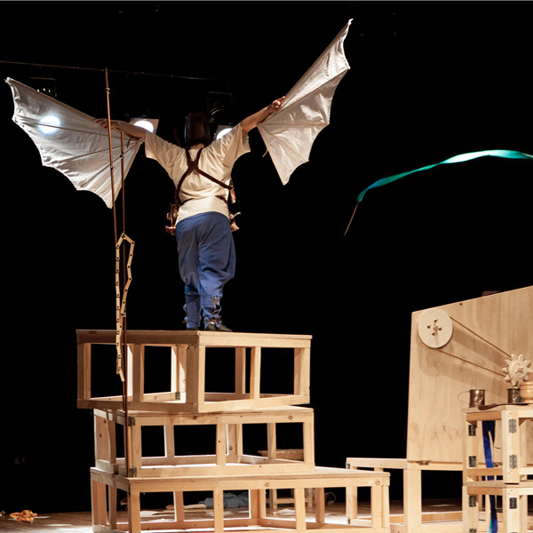 Teatro: Il sogno del giovane Leonardo da Vinci