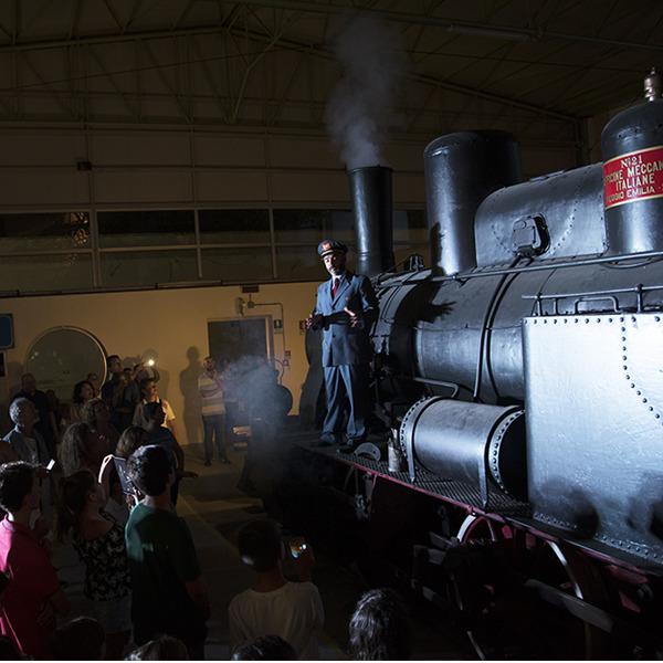Un viaggio nel tempo - Visita teatralizzata in notturna al Museo Ferroviario