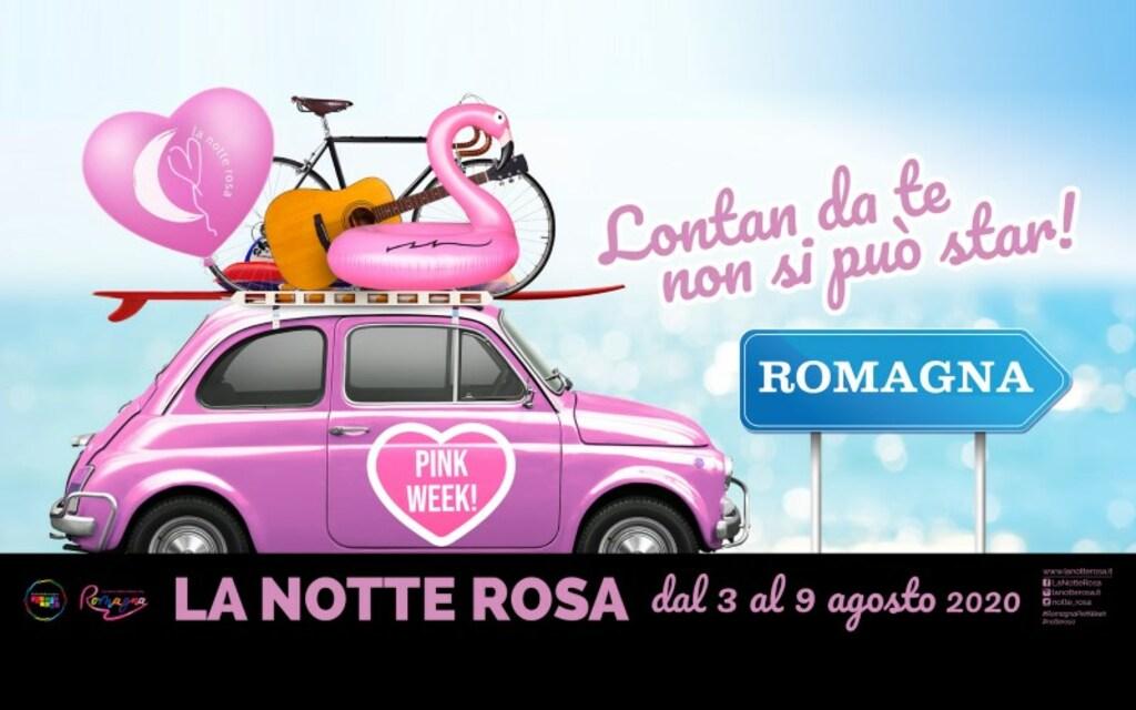 La Notte Rosa. Rimini e la Romagna festeggiano la Pink Week