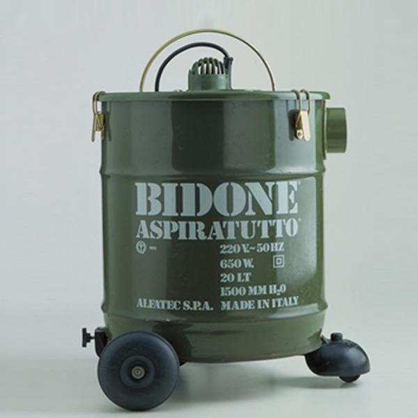 La storia di Bidone Aspiratutto: l'elettrodomestico realizzato da Francesco Trabucco per Alfatec nel 1974