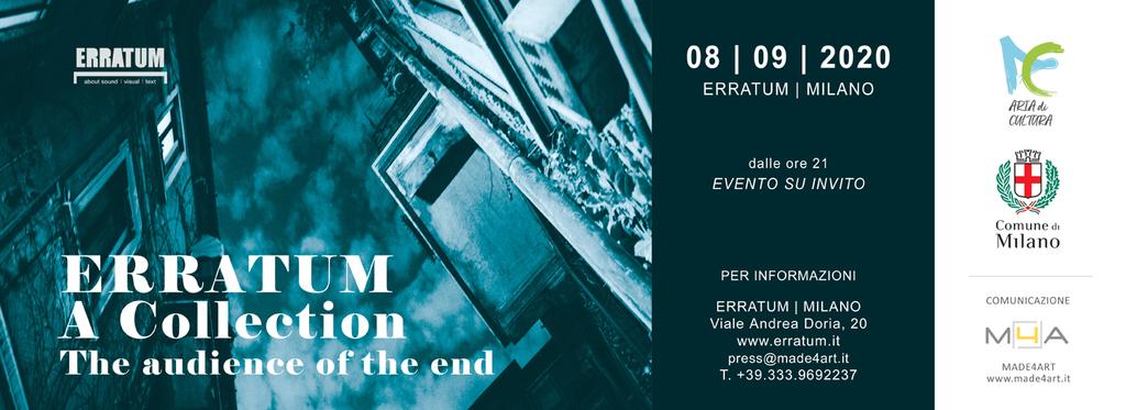 The audience of the end - Una collezione per un archivio sonoro immaginario e vivente