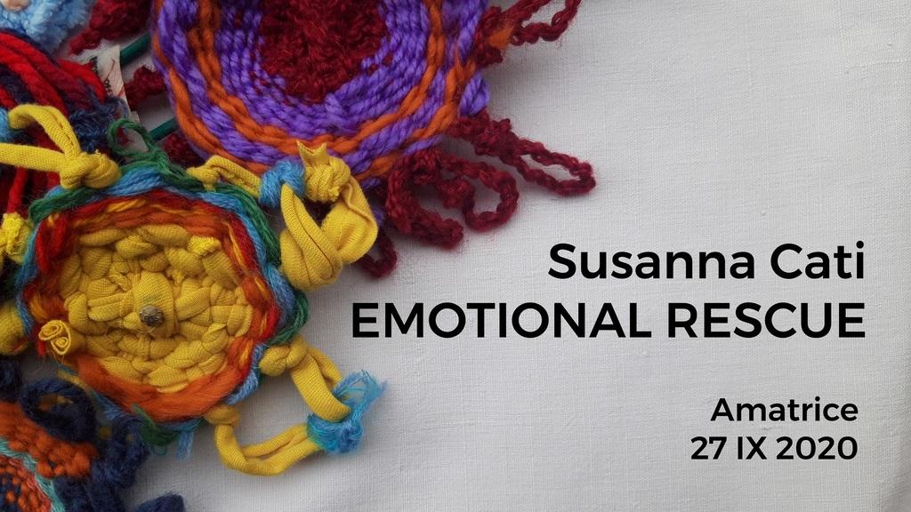 """Emotional rescue"" - Installazione temporanea di Susanna Cati"