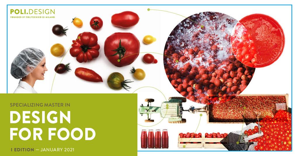 Master in Design for Food