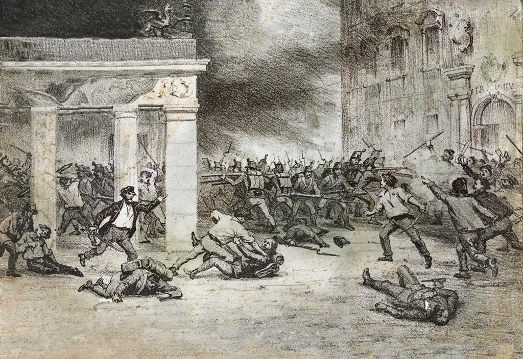 Dal testo al contesto: l'8 febbraio 1848: i primi moti insurrezionali a Padova