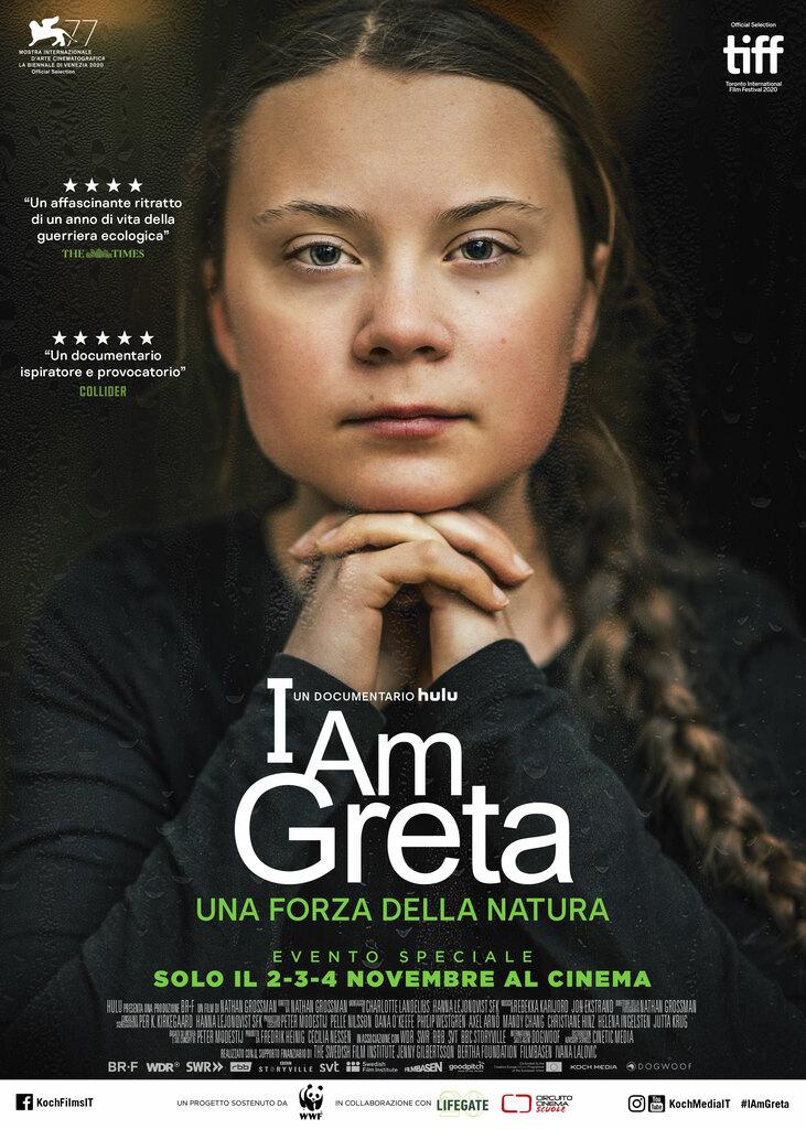 """I am Greta"". Il documentario di Nathan Grossman al cinema"