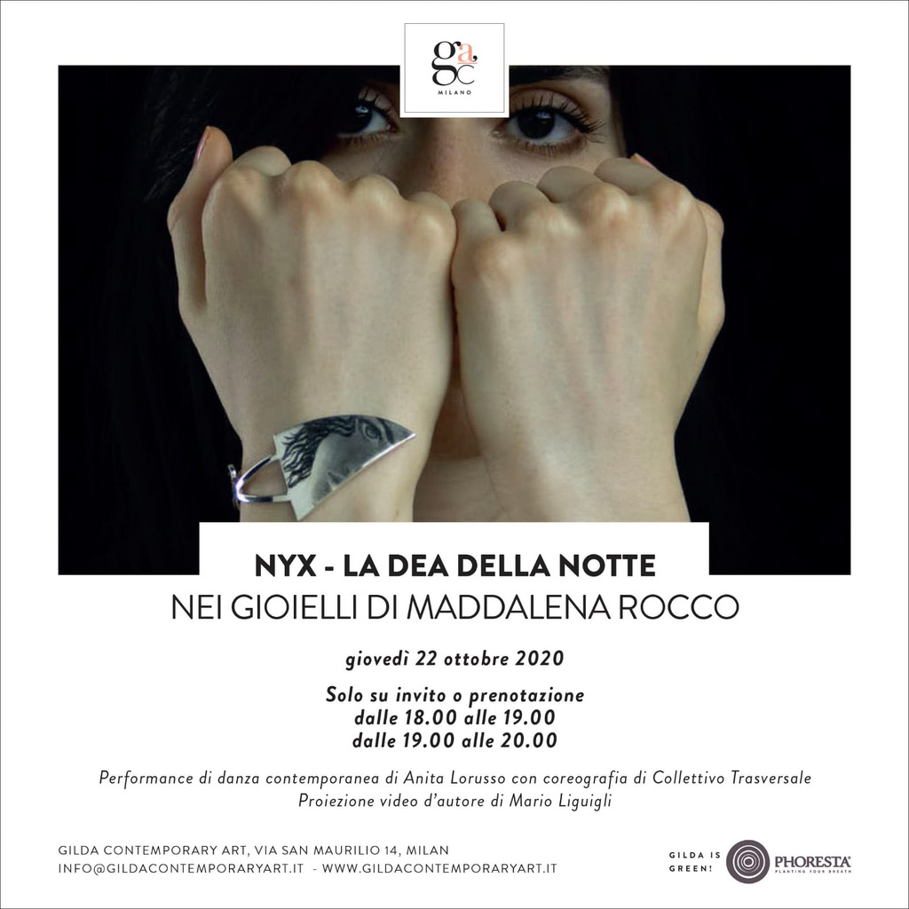 I gioielli di Maddalena Rocco: Nyx, dea della notte