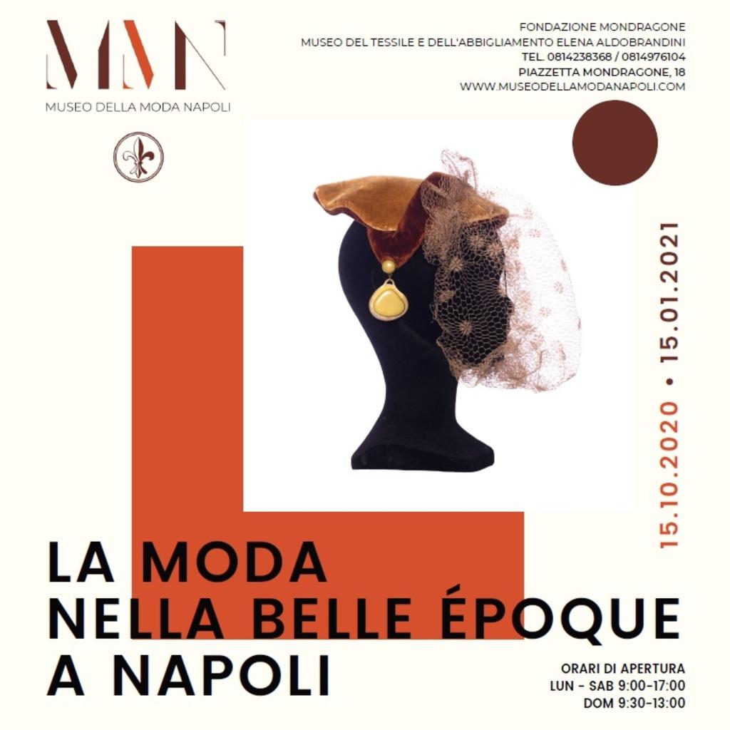 """Mostra: """"La moda nella Belle Époque a Napoli"""""""