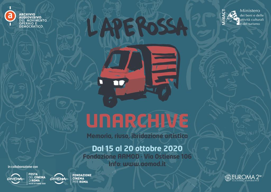 L'Aperossa Unarchive 2020: memoria, riuso creativo degli archivi e ibridazione artistica